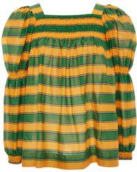 Striped Cotton Blouse La DoubleJ Cheap Manchester 7IDqKE