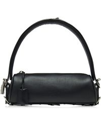 Balenciaga Bond Leather Duffle Bag - Black