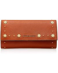 Givenchy - Pandora Long Leather Wallet - Lyst