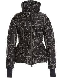 3 MONCLER GRENOBLE Dixence Moncler Printed Shell Ski Jacket - Black
