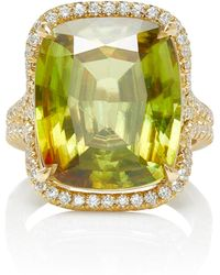 Jamie Wolf - M'o Exclusive One-of-a-kind Cushion Cut Double Pave Band - Lyst