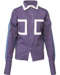 ANOUKI - Reversible Denim Shirt Jacket - Lyst
