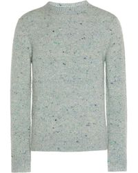 Acne Studios Peele Wool And Cashmere Jumper - Green