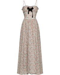 Lug Von Siga Melody Floral Cotton-blend Dress - Multicolor