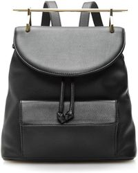 M2malletier - Calf Leather Backpack - Lyst