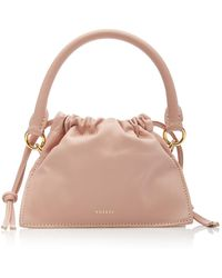 Yuzefi Bom Mini Leather Top Handle Bag - Pink