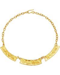Jean Mahie - 22k Yellow Gold Zodiac Necklace - Lyst