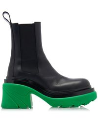 Bottega Veneta Flash Ankle Boots - Green