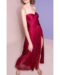 Maria Lucia Hohan - Rysa Metallic Tulle Dress - Lyst