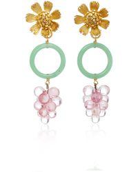 Lulu Frost One-of-a-kind Vintage Earring #31 - Multicolour