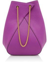 the VOLON - Mani Leather Bag - Lyst