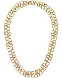 "Nancy Newberg - Twist Link 40"" Chain Necklace - Lyst"