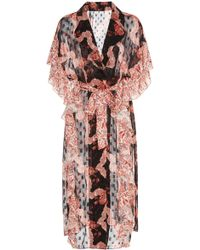 Anna Sui - Ribbons & Roses Jjcquard Cover-up - Lyst