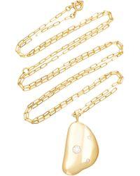 CVC Stones - 18k Gold Diamond Necklace - Lyst