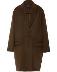 Isabel Marant - Filipo Wool-blend Coat - Lyst