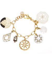 Lulu Frost One-of-a-kind Vintage Victorian And Edwardian Charm Bracelet - Metallic