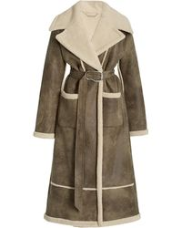 Jonathan Simkhai Briar Belted Wool-blend Coat - Multicolor