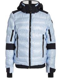 Toni Sailer Tami Padded Nylon Hooded Ski Jacket - Blue