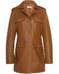 Tory Burch - Leather Pepper Jacket - Lyst