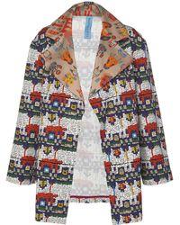 Rianna + Nina - Nina Printed Cotton Jacket - Lyst