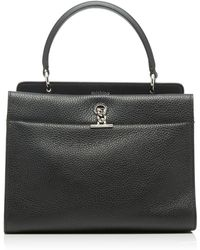Michino Paris - Honore Mm Bag In Grained Leather - Lyst