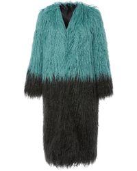 Anna Sui - Mongolian Faux Fur Jacket - Lyst