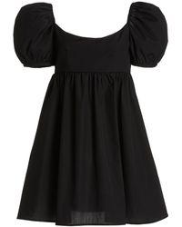 Ciao Lucia Delfina Cotton Mini Dress - Black