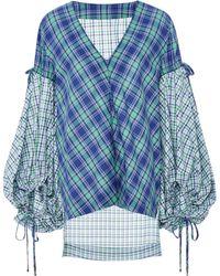 Prabal Gurung - Blouson Sleeve Shirt - Lyst