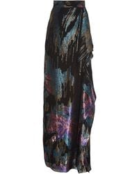 Peter Pilotto Fireworks Fil Coupe Skirt - Multicolour