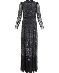 Needle & Thread Aurora Gown - Black