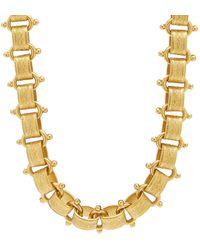 Brinker & Eliza Tara 24k Gold-plated Necklace - Metallic