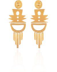 CANO Palomino Earrings - Metallic