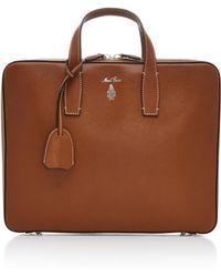 Mark Cross - Parker Saffiano Leather Briefcase - Lyst