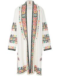 Figue Martina Embroidered Jacket - White