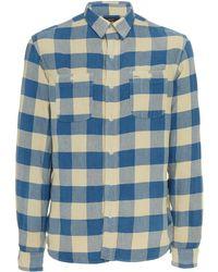 b6d1a19f RRL - Farrell Cotton Plaid Shirt - Lyst