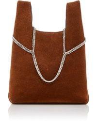 Hayward - Chain Suede Mini Shopper Bag - Lyst