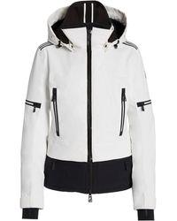 Toni Sailer Penelope Nylon Ski Jacket - White