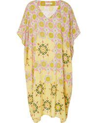 VERANDAH - Vintage Taffeta Kaftan Dress - Lyst
