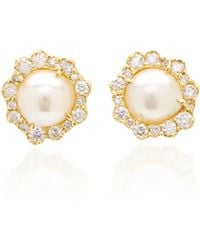 Kimberly Mcdonald - One-of-a-kind Reclaimed Pearl Studs - Lyst