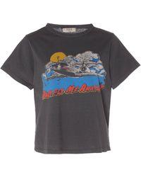 Sea Graphic T-shirt - Grey