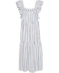 Apiece Apart - Ossetia Tiers Dress - Lyst
