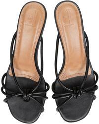 Flattered Eunice Leather Sandals - Black