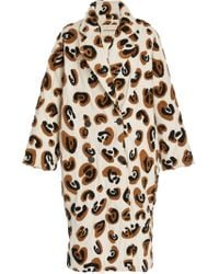 Mara Hoffman - Clementine Double-breasted Leopard-print Cotton Coat - Lyst