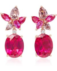Anabela Chan - Exclusive Ruby Lily Earrings - Lyst