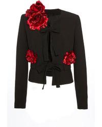 Elie Saab - Floral Embellished Jacket - Lyst