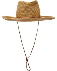 Eric Javits Archeologist Wide-brimmed Straw Hat - Multicolour