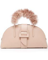 ADEAM - Maribou Top Handle Bag - Lyst