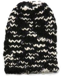 The Elder Statesman - Chunky Hand-knit Cashmere Beanie - Lyst