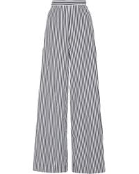 MDS Stripes - M'o Exclusive Cotton Palazzo Trousers - Lyst