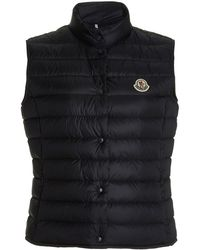 Moncler Liane Quilted Down Vest - Blue